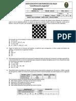 PRUEBA INSTITUCIONAL MATEMTICAS 7 P1