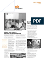 Konbit Sante September 2008 Newsletter
