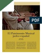 El Patrimonio Musical Judeo-español (Joaquín Díaz)