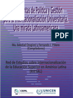 RIESAL Internacionalización de la educación superior