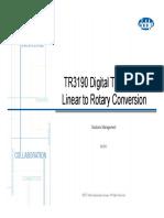 8. Conversión transductor lineal a rotatorio