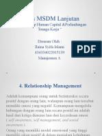 Tugas MSDM Lanjutan Ilaina Manajemen A