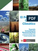 Segunda Comunicacion Nacional Del Peru a La CMNUCC. 2010