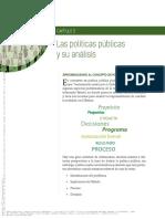Las políticas públicas cuadernos de notas. Cap. 2. (pp 13-40).