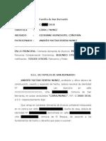 Contestación Demanda Divorcio - por el abogado Giovanni Huenchupil