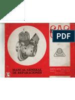 Manual Reparaciones G.a.C.- Mobylette