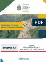 Desforestacion en Nicaragua