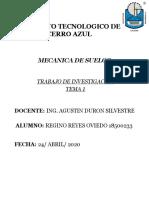 MECANICA DE SUELOS TEMA 1