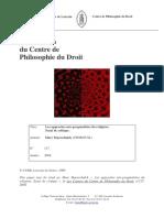 Les approches néo-pragmatistes (Maesschalck, Marc)