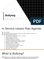 lesson plan on bullying