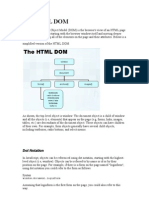 The HTML Dom