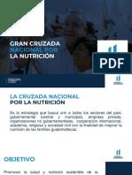 4 SESAN Gran Cruzada Nacional Nutrición 10 feb2020