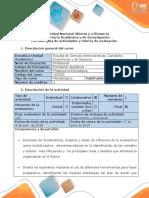 Guía de actividades y rubrica de evaluación Unidad  2-Fase 4-Elaborar el plan prospectivo y estratégico para la empresa seleccionada