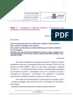 Texto 1 - Produção de Material Didático para EaD  (Tereza Fagundes)