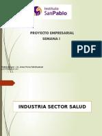 INDUSTRIA DEL SECTOR SALUD - SEMANA 1-2