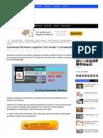 Download Software LogixPro Full versão + Instalação - Ensinando Elétrica _ Dicas e Ensinamentos.pdf