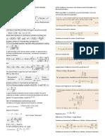 Probability and Statistics Formula Sheet
