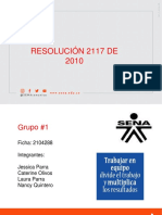RESOLUCION 2117 DE 2010