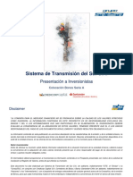 Presentación inversionistas - Serie A