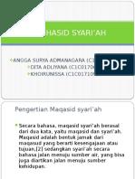 MAQHASID SYARI'AH