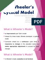 Wheeler's Cyclical Model