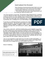 Fall 2008 News Letter