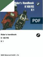 BMW Rider's Handbook K100RS K1