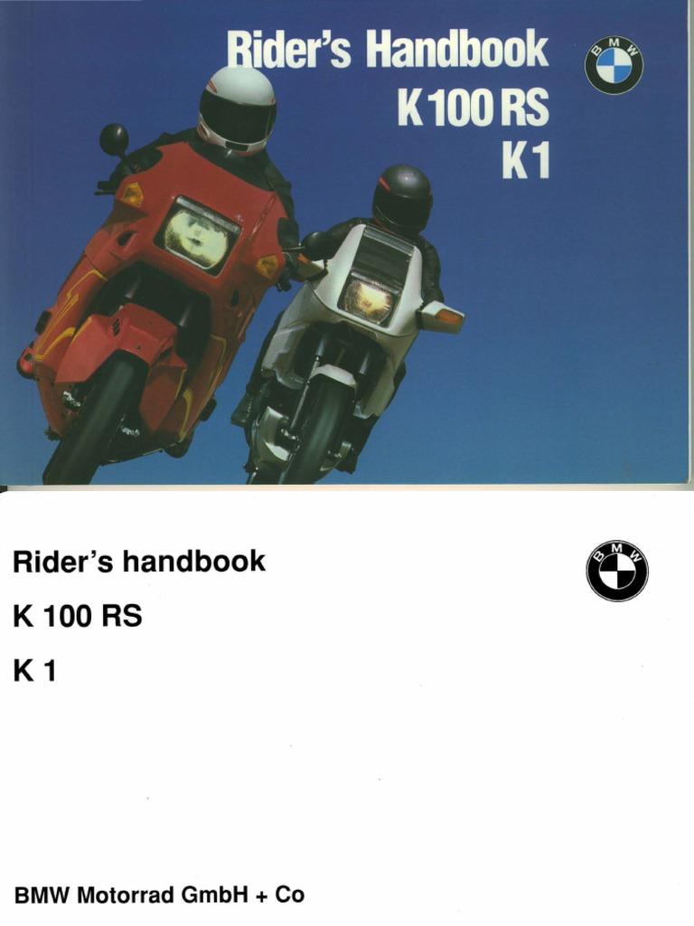 Bmw k1 k75 k100rs k100lt r80gs r100r bike repair manual download.