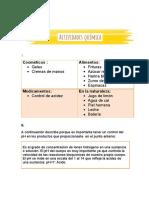 actividades de quimica II