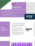 RADIO IN MALAYSIA
