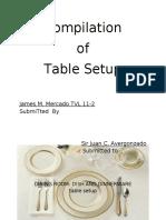 Compilation-of-table-setup