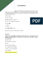 Debentures & Preference Shares