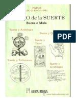 El Libro de La Suerte Buena o Mala - Papus