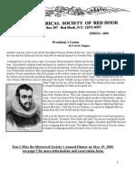 2009 Newsletter4-20-09