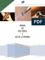MANUAL DE USO DE LA VIVIENDA PARA TODOS LOS CONJUNTOS