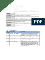 Formato Modelo de Casos de Uso