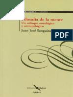 Sanguineti Juan Jose - Filosofia De La Mente.pdf