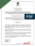 Decreto 121 de 2020