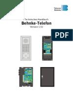 Technisches Handbuch 1.52 deutsch