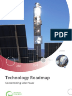 Technology Roadmap Concentrating Solar Power