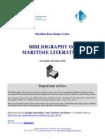 BibliographyonMaritimeLiterature_28January2010_