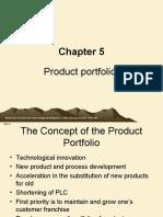 7 Product Portfolios