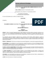 REGLAMENTO GENERAL A LA LEY NO. 737 _LEY DE CONTRATACIONES ADMINISTRATIVAS DEL SECTOR PÚBLICO__