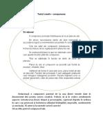 Textul creativ redactarea compunerii