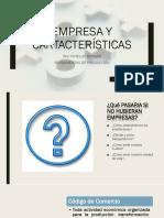 Empresa, tipos de empresa, factores micro-macro