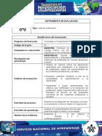 negociacion INSTRUMENTO DE EVALUACIÓN INTERNACIONAL