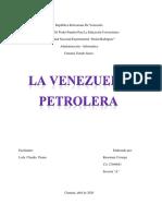 VENEZUELA PETROLERA