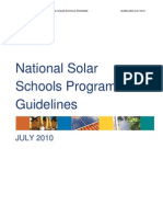 National Solar Schools Program Guidelines - AU
