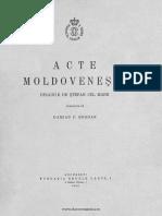 Acte moldovenesti dinainte de Stefan cel Mare.pdf