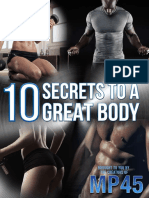 10 Secrets to a Great Body